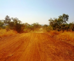 Road to Bankagooma Land