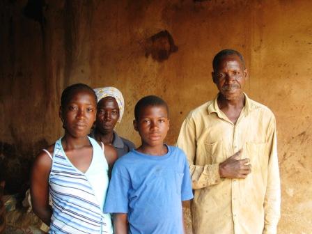 Gaspar. Ivory Coast, Abengourou.