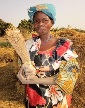 By the Baffond on Niaradougou. By the Potato fields.