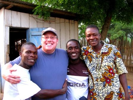 Some of my coco growing friends. A happy reunion in 2009. Man I miss these guys.
