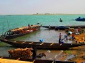View From the Pier in Segou.